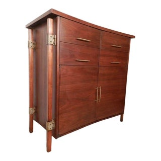 Harold M. Schwartz for Romweber Mid-Century Tall Chest For Sale