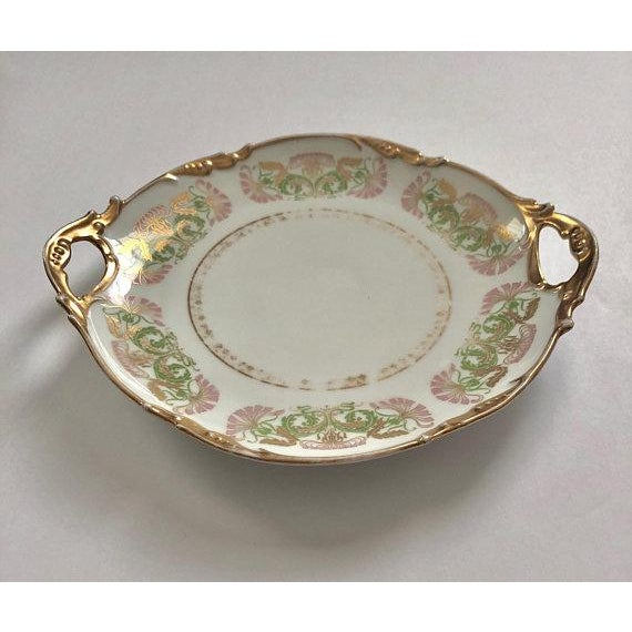 Aesthetic Movement Antique Jean Pouyat Limoges Plate For Sale - Image 3 of 11
