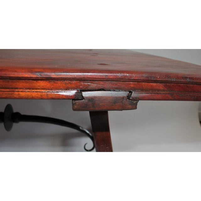 Early 20th Century Monumental Spanish Coffee Table For Sale - Image 4 of 10