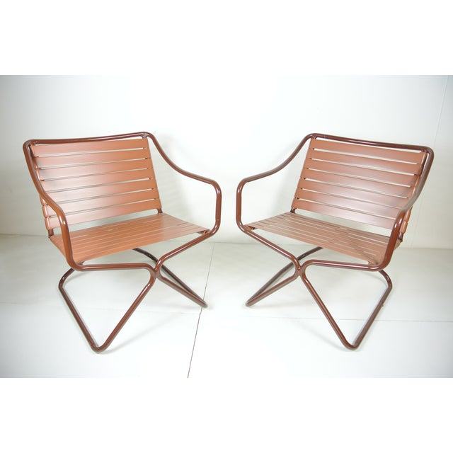 This set of chairs are part of the Kailua collection designed by Hal Bradley for Brown Jordan in the 1950s. This set has...