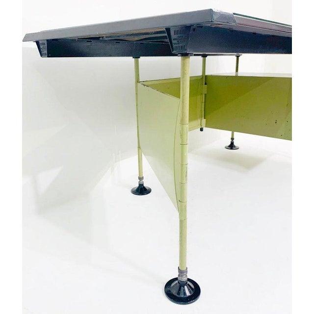 Italian Modernist Spazio Desk by Studio Bbpr for Olivetti - 1959 For Sale - Image 6 of 9
