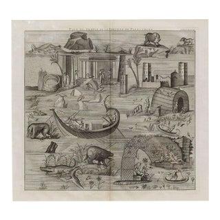Plate of the Temple of Fortuna Primigenia