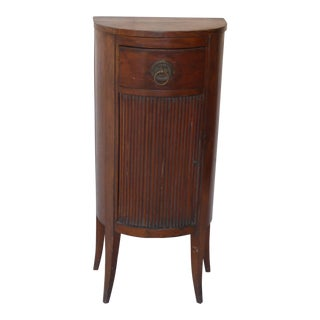 19th Century French Demi-Lune Cabinet For Sale