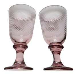 Image of Libbey Glass Co. Wine Glasses and Goblets