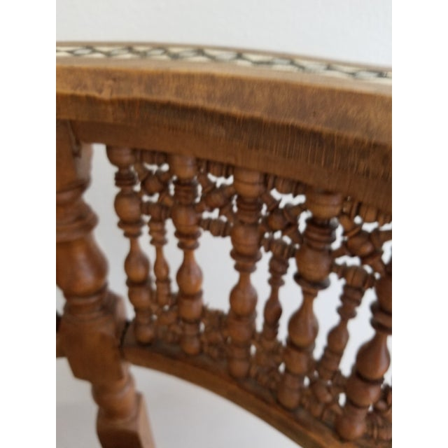 Early 20th Century Early 20th Century Moroccan Side Chair For Sale - Image 5 of 12
