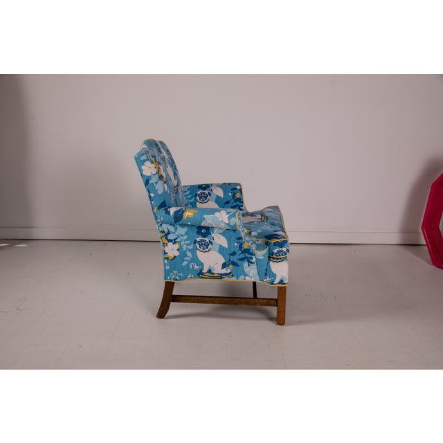 1960s Vintage Mid Century Madcap Cottage Pug Chair For Sale - Image 5 of 11