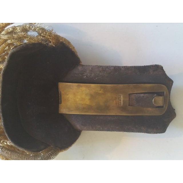 Antique 19th Century French Epaulette For Sale - Image 5 of 5