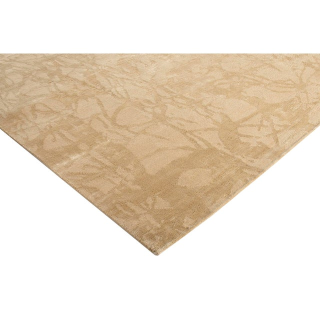 Contemporary Stark Studio Rugs Contemporary New Oriental Tibetan Wool Rug - 9′ × 12′ For Sale - Image 3 of 5