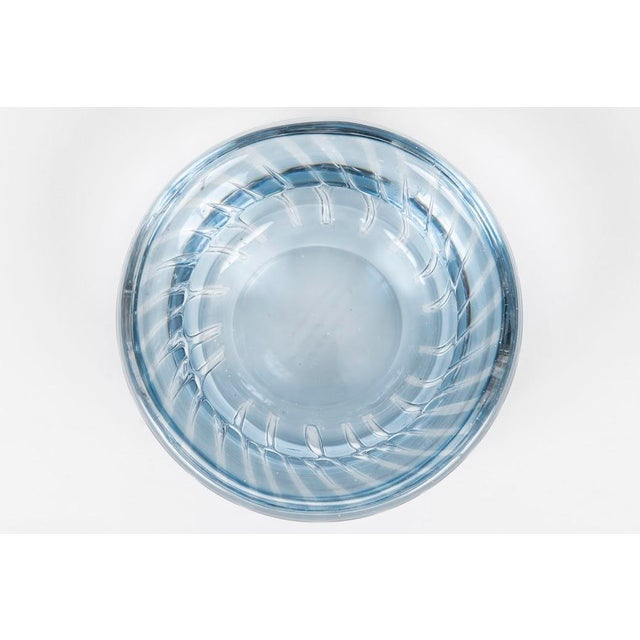Modern Orrefors Arial Bowl For Sale - Image 3 of 5