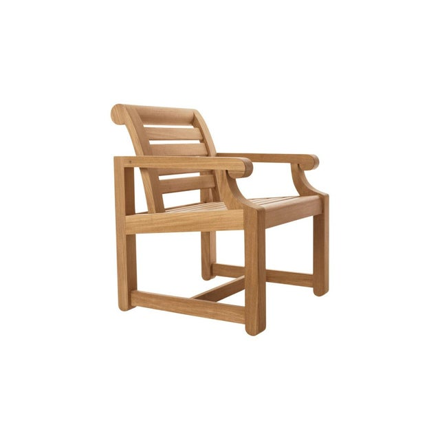Contemporary Summit Furniture First Cabin Landscape Chair For Sale - Image 3 of 3