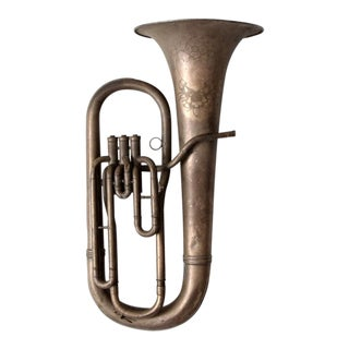 Antique Baritone Instrument For Sale