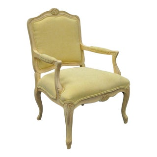 Samuelson Furniture Country French Louis XV Style Armchair