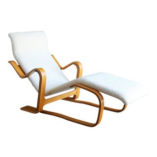 Mid Century Early Marcel Breuer Long Chaise For Sale