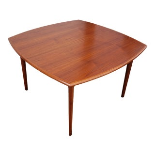 Vintage 1970's h.w. Klein Teak Dining Table for Bramin For Sale