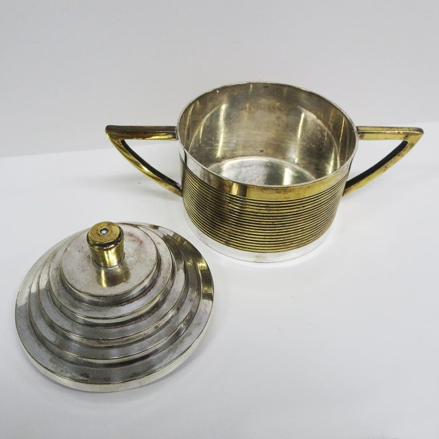 Art Deco Moderne Silver Plated Coffee Service For Sale In Los Angeles - Image 6 of 10