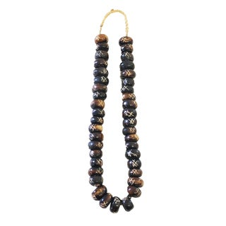 "African Jumbo Bone Trading Beads 24"" L For Sale"