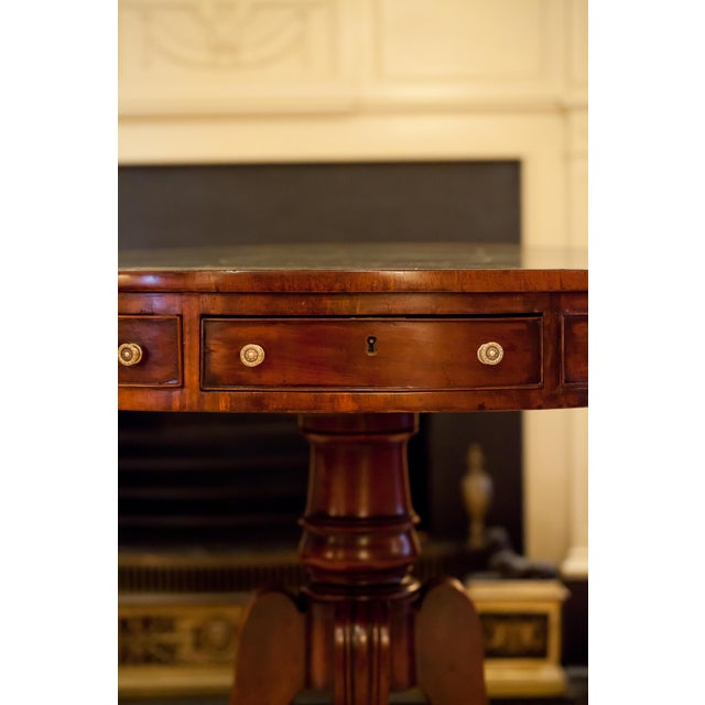 Regency Drum/Rent Table, England Circa 1815 For Sale In Washington DC - Image 6 of 13