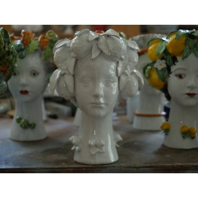 Sculpture with Crown, Ceramiche D'arte Dolfi For Sale - Image 11 of 12
