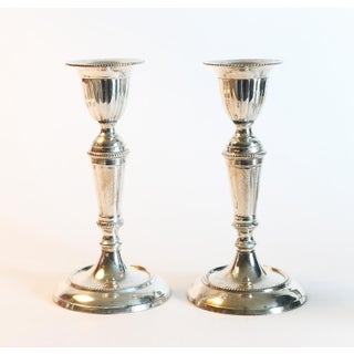 1980s Traditional Silver Candle Holders - Set of 5 Preview