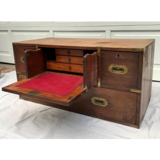 Antique Military Campaign Chest of Drawers Preview