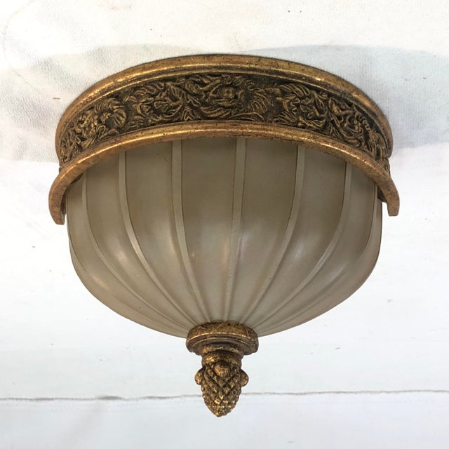Murray Feiss Baroque Brulee Gold Wall Sconce - Showroom Sample This ornate light fixture features a breathtaking vine...