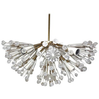 Emil Stejnar Snowball Flush Mount Chandelier For Sale
