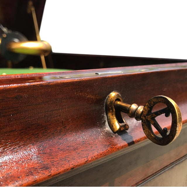 Antique Working Victor Victrola Humpback Console Mahogany Phonograph Record Player - Image 7 of 10