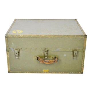 Authentic Military W W 2 Era Hartmann Seapack Suitcase For Sale