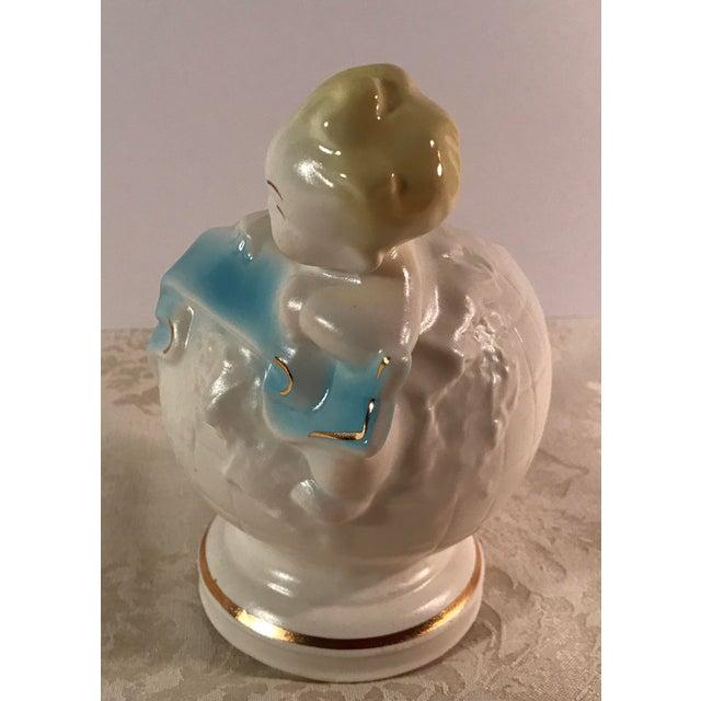 Art Deco Baby & Globe Ceramic Vase - Image 7 of 11