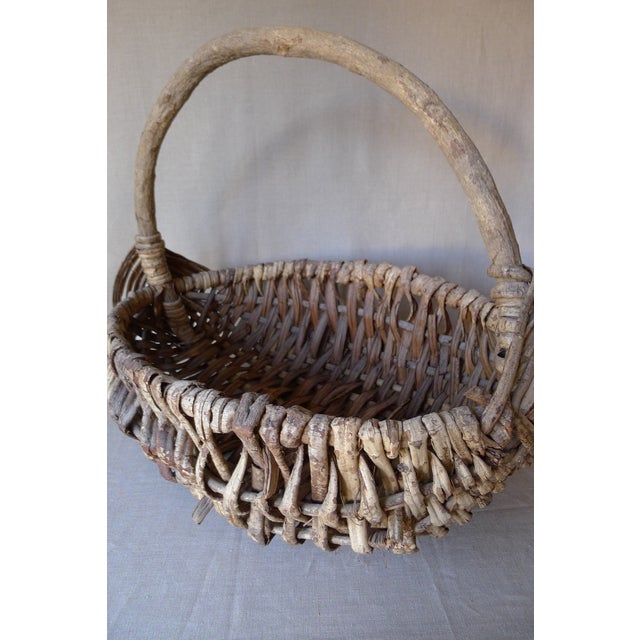 Large Appalachian Handwoven Basket - Image 2 of 7