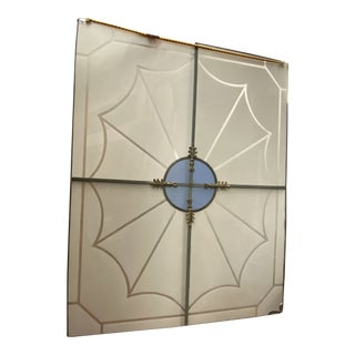 Art Deco Spiderweb Skylight For Sale