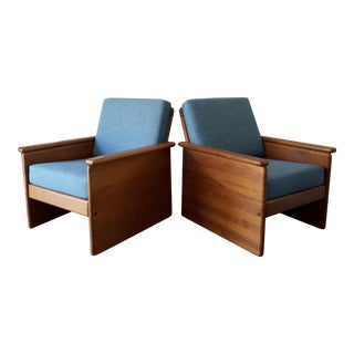 Vintage Tarm Stole Teak Lounge Chairs - A Pair For Sale
