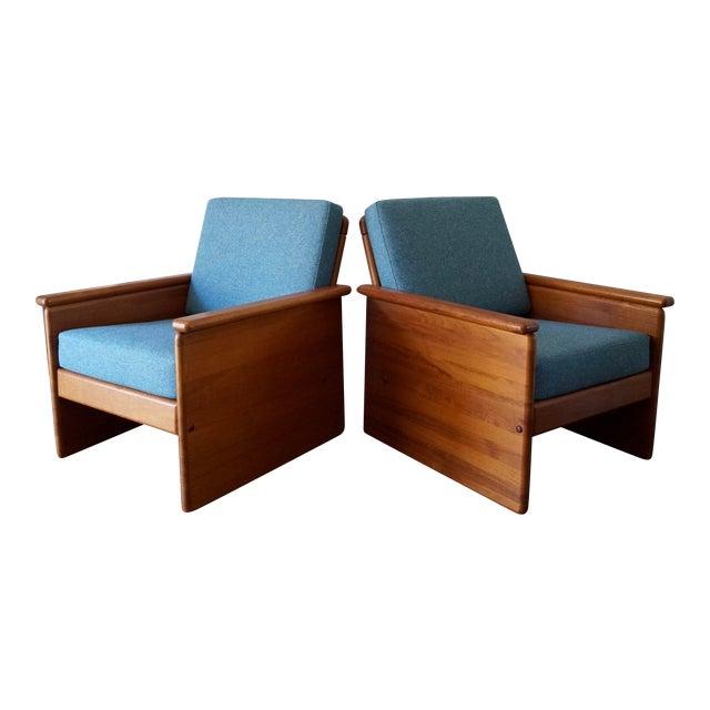 Vintage Tarm Stole Teak Lounge Chairs - A Pair For Sale