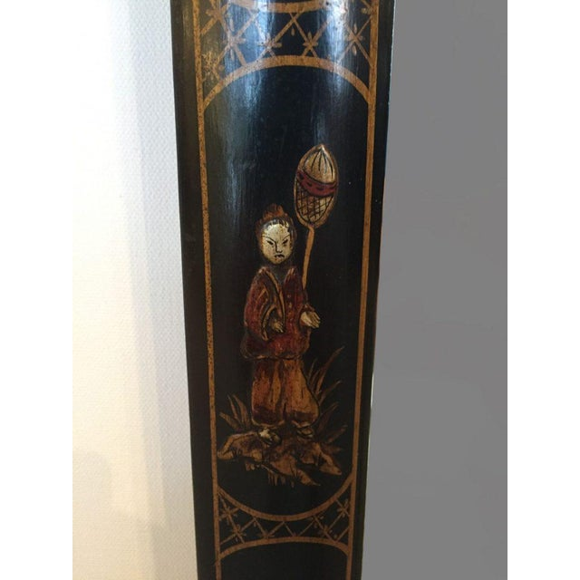 Asian 19th C. English Chinoiserie Mirror For Sale - Image 3 of 5