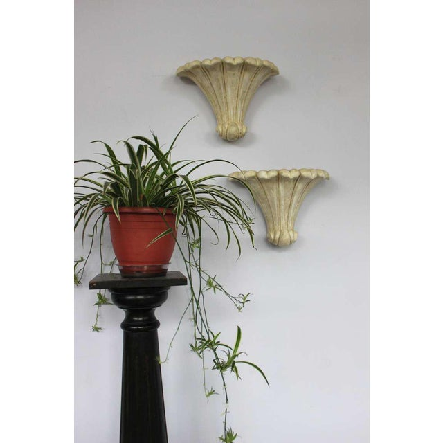 Pair of Deco Style Plaster Scones - Image 7 of 11