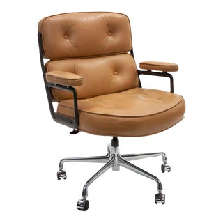 1980s Mid-Century Modern Herman Miller Eames Executive Chair For Sale
