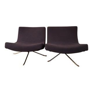 Ligne Roset Mini Pop Swivel Chairs - a Pair For Sale