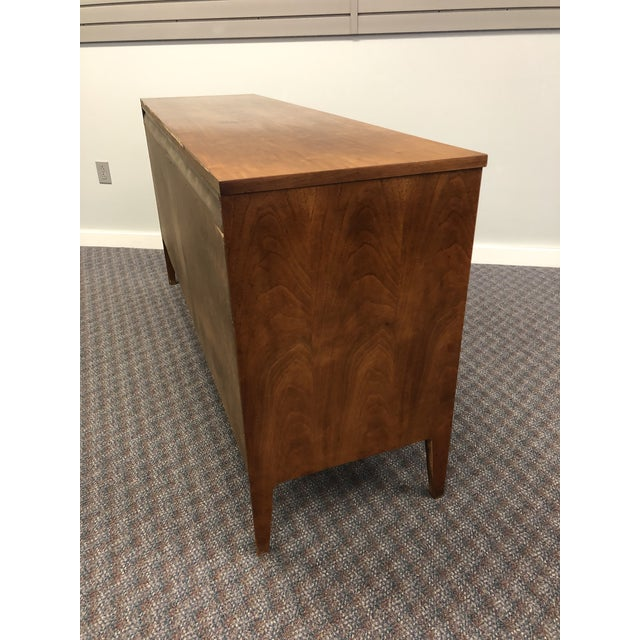 Vintage Mid Century Modern Walnut Credenza - Forward by Broyhill For Sale - Image 6 of 13