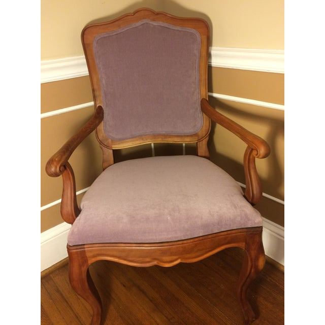 French 1990s Vintage Baker Chair For Sale - Image 3 of 11