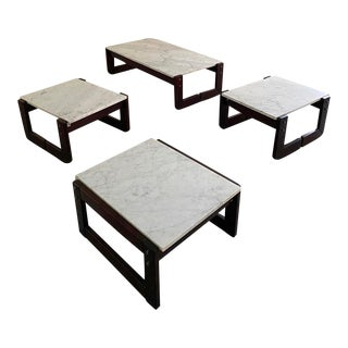 Modern Percival Lafer Coffee and Side Tables - 4 Pieces For Sale