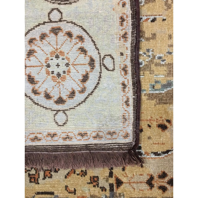 """Traditional Distressed Mamluk Design Heritage Area Rug - 7'8"""" X 10'0"""" For Sale - Image 3 of 4"""