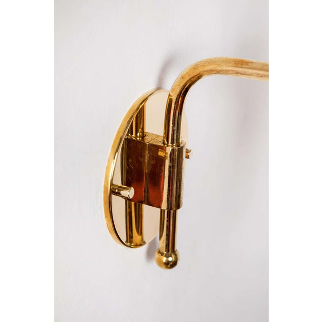 1950s Giuseppe Ostuni Articulating Arm Sconces for O-Luce - a Pair For Sale - Image 12 of 13