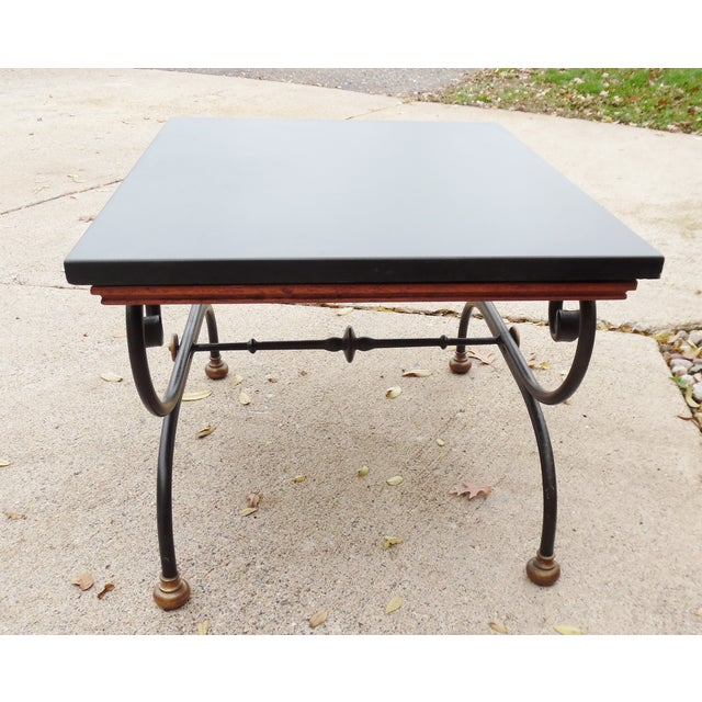Vintage Morganton Furniture Barcelona Collection Side Tables - Pair For Sale - Image 10 of 10