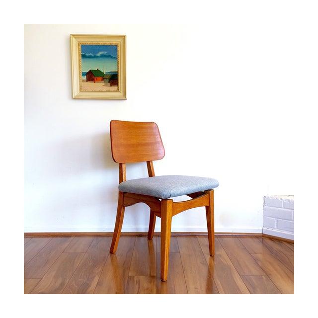 1950s Mid Century Teak Chair - Image 2 of 8