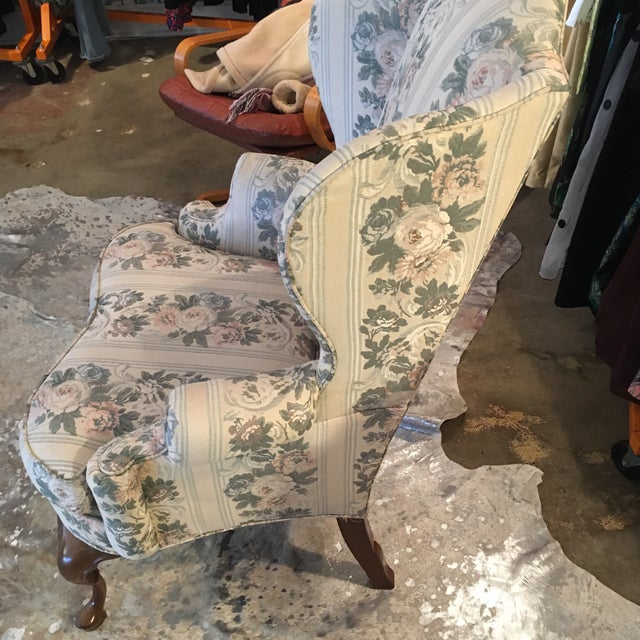 Pennsylvania House Chippendale Style Wingback Chair - Image 4 of 10