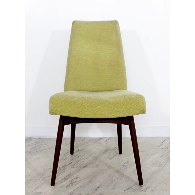 Mid Century Modern Adrian Pearsall Compass Dinette Dining Table & 4 Chairs 1960s For Sale In Detroit - Image 6 of 12