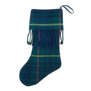 Scottish Tartan Christmas Stocking