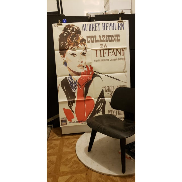 "Early 21st Century ""Breakfast at Tiffanys"" Italian Movie Poster For Sale - Image 5 of 5"