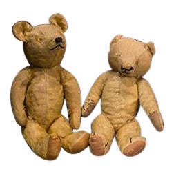 Two English Blind Teddy Bears For Sale