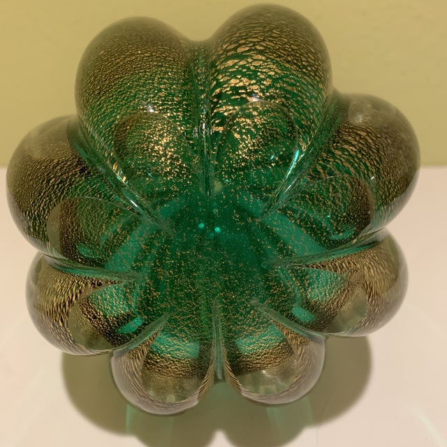 1950s Italian Mid Century Murano Bottle/Decanter With Stopper For Sale - Image 5 of 10